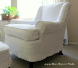 There's Something About a White Slipcover…