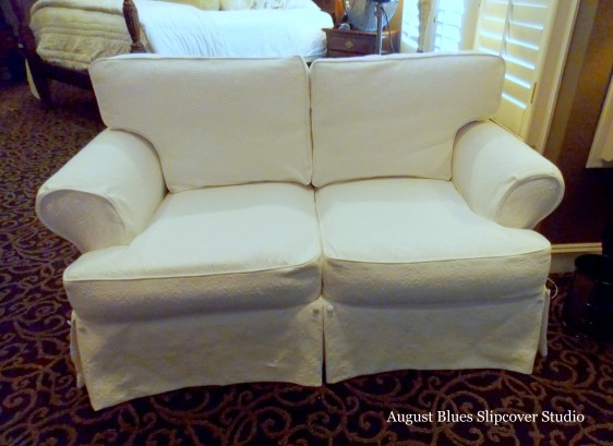 August Blues - Loveseat After